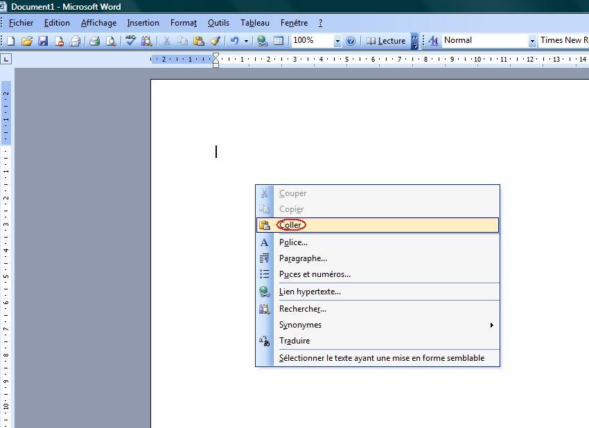 Copier couper coller tips and tricks - Couper une image sur word ...